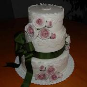 Svadobná tortička