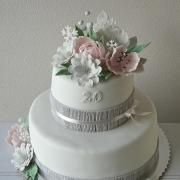 Zimná narodeninová torta