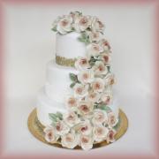 Svatební s růžema
