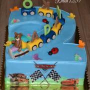 Torta k 2.narodeninám