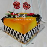 Torta Dráha Cars 2