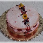 Torta macarons tortička