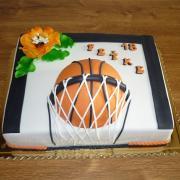 Torta narodeninová,športová