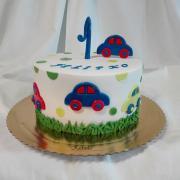 Torta Autíčková