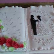 Torta dalšia svadobná