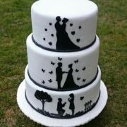 Torta Svadobna tortička