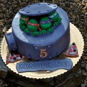 Torta Ninja korytnačky :-)