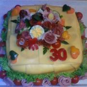 Torta Moja prvá slaná torta