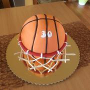 Torta basketbalka