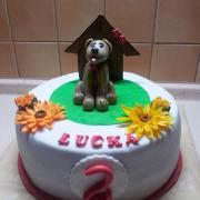 Torta so psíkom