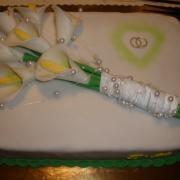 Torta Svadobná s kalami