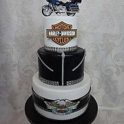 Torta torta harley davidson