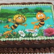 Torta Čokoládová z jedlým obrázkom