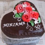 Torta Čokoládové srdiečko