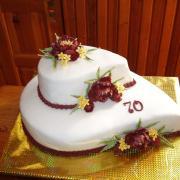 Torta narodeniny 70