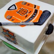 Torta maľovaná hokejová