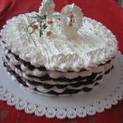 Torta na desiate narodky-penová
