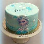 Torta jednoduchá s frozen