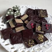 Torta veľkonočné čokoládky a pralinky
