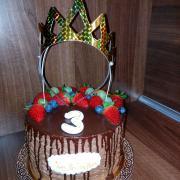 Torta S ovocím pre malú princeznú