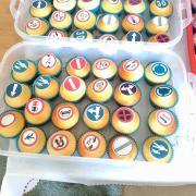 Torta Dopravné muffinky do škôlky :-)