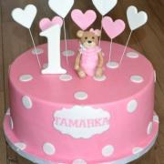 Torta k 1.narodeninám