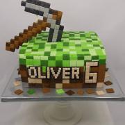 Torta Torta Minecraft pre Oliverka :o)