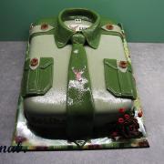 Torta myslivecká košile
