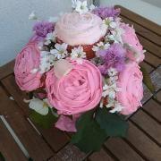 Torta Cupcakes kytica ku dňu matiek