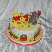Torta 1.narodeniny