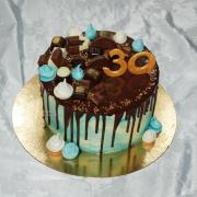 Torta drip k 30tke pre muza