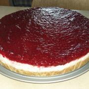 Torta Malinovo-citronovy cheesecake
