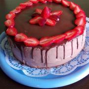 Torta S jahodami