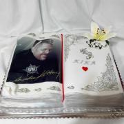Torta Kniha otvorená