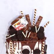 Torta Pre milovníka nutely a oreo keksíkov