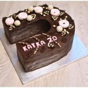 Torta Ganážová podkova