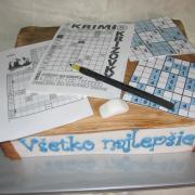 Torta Tajničky a sudoku