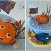 Torta Nemo & Dory