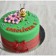 Torta Tortička s včielkou podľa želania