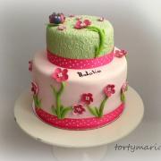 Torta kvietková s lienkou