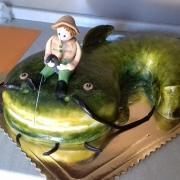 Torta vášnivý rybár