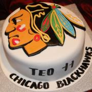 Torta Chicago Blackhawks