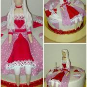 Torta Torticka pre milovnicku sitia handrovych babik