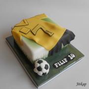 Torta Fotbalový dres pro Filipa