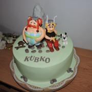 Torta Asterix, Obelix...Idefix...či ako sa volaju
