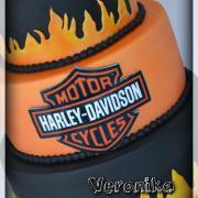 Torta Harley-Davidson