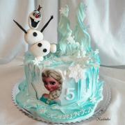 Torta Ľadové kráľovstvo / Frozen