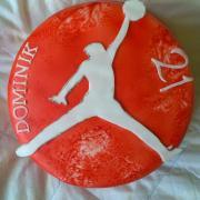 Torta Športová: Nike Jordan symbol...