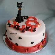 Torta mačička pre lilien...