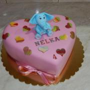 Torta So sloníkom pre Nelku